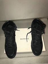 Ltd Edition Balenciaga para hombre Negro Hi Top Zapatillas Zapatos Sneakers Size UK 8 - 42