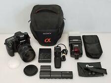 Sony Alpha SLT-A77 24.3MP Digital SLR Camera w Sony SAL1650 16-50mm 2.8 SSM Lens