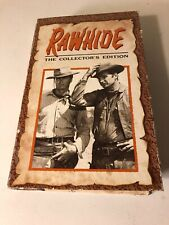 Clint Eastwood RAWHIDE COLLECTOR'S EDITION 2 episodes Columbia 1991 VHS