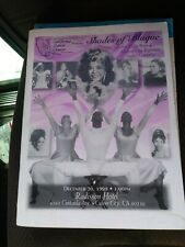 California Dance Center Program 1998 Booklet Della Reese