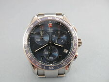 Victorinox Swiss Army Men's 241120 Classic Chronograph Blue Dial Watch NO RESER