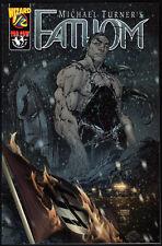 Fathom 1/2 Wizard SPECIAL EDITION VARIANT COVER + COA NM NUOVO Witchblade Aspen