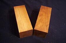 "2 Piece Dry Black Cherry Spindle Blanks 2 1/4 x 2 1/4 x 6 "" Lathe Turning Lumber"