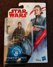 STAR WARS THE LAST JEDI GENERAL LEIA ORGANA FORCE LINK ACTION FIGURE