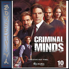 CRIMINAL MINDS - COMPLETE SEASON 10   *BRAND NEW DVD***