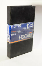 Sony BCT-124HDL HDCAM Videocassette, Large