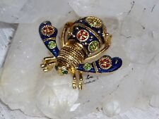 Exquisite JOAN RIVERS IMPERIAL REGAL Bee Brooch NIB Original & Signed  SALE