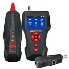 2.8 LCD Cable Length Wire Tracker Meter POE PING Ethernet Tester, STP/UTP 5E, 6E