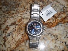 Wenger DIVE WATCH Swiss Army  Men's  Battalion Day/Date  blue 096.0655