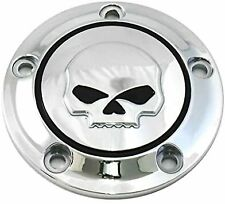 TIMER COVER ACCENSION SKULL HARLEY DAVIDSON DYNA SOFTAIL ROAD KING ELECTRA GLIDE