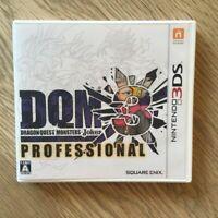 Nintendo 3DS Dragon Quest Monsters Joker 3 Professional Square Enix Game Japan !