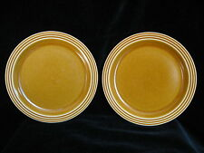 PAIR of Vintage Hornsea SAFFRON Plates 17cm - more available