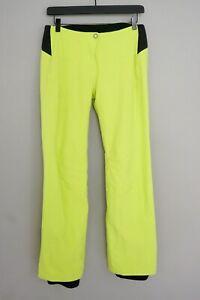 Women Salomon Skiing Trousers Green Pertex Shield Size S ZPA281