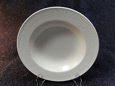 """Mikasa White Birch Soup Bowl Pasta Salad Intaglio CA060 9 3/8"""" MINT!"""