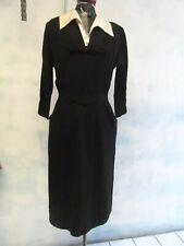 R&K Originals Vtg 50s I Love Lucy couture Crepe Dress sz 4