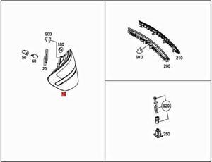 Genuine MERCEDES R172 SLC SLK Tail Light Rear Lamp Right 1729066000