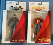 DC Collectibles Red Nightwing and Earth 2 Flash Bundle Lot of 2 MIB