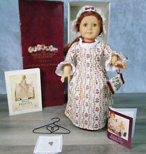 "American Girl Pleasant Company 18"" FELICITY DOLL In MEET OUTFIT With ACCESSORIES"