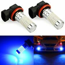 JDM ASTAR 2x H11 3014 LED Fog Light Bulbs Driving Lamp H8 6500K Xenon High POWER