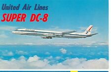 UNITED AIR LINES-SUPER DC-8-FIRST OF THE JUMBO JETS-(MP-942*)