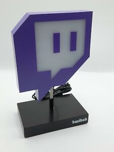 Official Twitch Led Glitch Light Usb Powerded New Boxed
