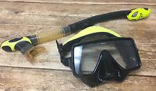 Scuba Diving Diver Dive Barracuda Aeris Snorkel + Scuba Pro Mask Snorkeling