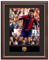 Michael Laudrup Mounted Framed & Glazed Memorabilia Gift Football Soccer