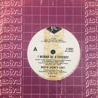 "Boys Don't Cry - I Wanna Be A Cowboy / Turn Over 7"" Vinyl 45rpm Single NM"