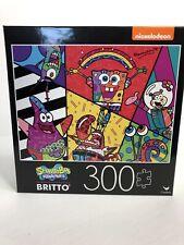SpongeBob Squarepants Britto Jigsaw Puzzle 300 Pcs Nickelodeon