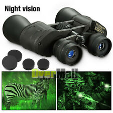 180x100 Zoom with Night Vision Outdoor Travel Binoculars Hunting Telescope+Case