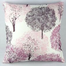 "Cushion Cover Pink Flowering Cherry Sakura Tree Pillowcase Decor Square 20"" PI33"