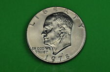 1978-D  AU About  Uncirculated (Eisenhower) US One Dollar