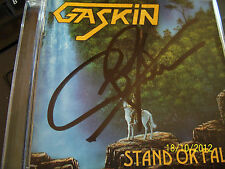Gaskin - Stand Or Fall (CD 2002) Autographed