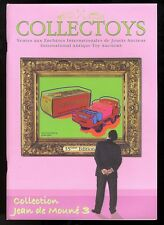 COLLECTOYS  35 eme  vente de jouets anciens    21 septembre 2002