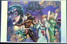 DANGER GIRL SDCC 2013 Art Print J. SCOTT CAMPBELL & RICHARD FRIEND Only 25 Made!