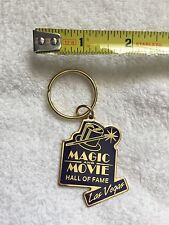 Retonio's Magic and Movie Hall of Fame Las Vegas Keychain Rare