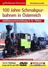 DVD 100 Jahre Schmalspurbahnen in Österreich Rio Grande