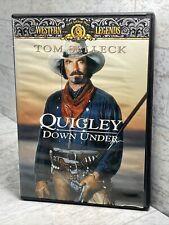 Quigley Down Under, Western Legends DVD, Tom Selleck Disc Mint!
