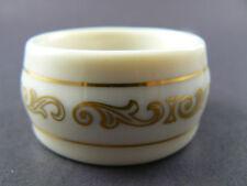 Lenox Porcelain Fine Bone China Filigree Napkin Ring (5 available) (C14)