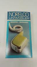 Vintage Norelco untangler