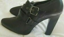 Vintage SimplyVera by Vera Wang Ankle Booties Black Leather 6M