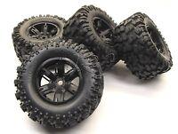 X-MAXX Wheels & Tires (8s Factory Glued Assembled (set 4 NEW Traxxas 77086-4