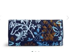 NEW Vera Bradley Trifold Wallet in Java Floral. Retail $42