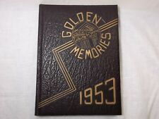 1953 GOLDEN MEMORIES WASHINGTON MISSIONARY COLLEGE D.C YEARBOOK YEAR BOOK