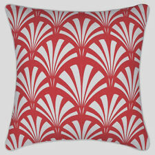 NEW Cherry Pink Geometric Print Cushion Throw Cover 45x45 Modern Sylish Print