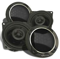 CT Sounds Strato Car 4 Inch Coaxial Speakers 2 Way Silk Dome Full Range Coax Set