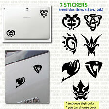 pegatina sticker Aufkleber fairy tail anime manga emblema japon x2