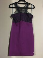 Guess Dress Purple Sleeveless knee length (Size XL)