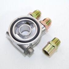 """Ölfilter Adapter Sandwich Platte mit Thermostat Dash10 für Ölkühler 3/4"""" Adapter"""