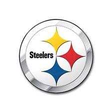 Pittsburgh Steelers Emblem Auto Car Accessories Chrome Team ProMark NFL